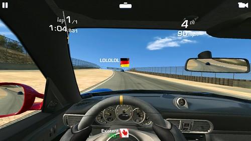 เล่นเกม Real Racing 3 บน obi worldphone sf1