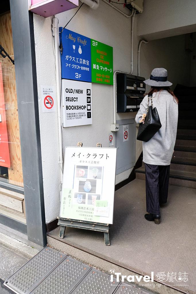 东京手作课程 喷砂玻璃工艺体验 09