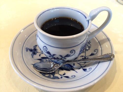 食後のコーヒーですよ!