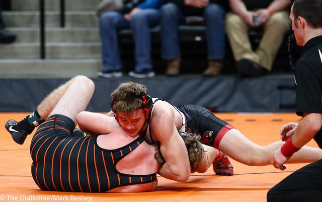 170A - Semifinal - Alex Erpelding (Staples-Motley) 41-1 won by tech fall over Cody Dravis (Park Rapids) 38-7 (TF-1.5 4:51 (15-0))