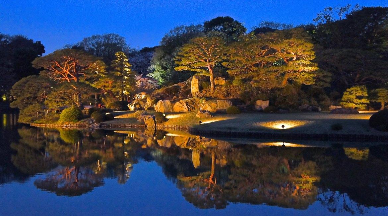 Rikugien Garden Tokyo
