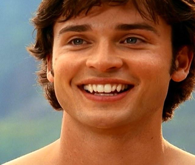Superman Smallville Aqua  Clark Big Smile