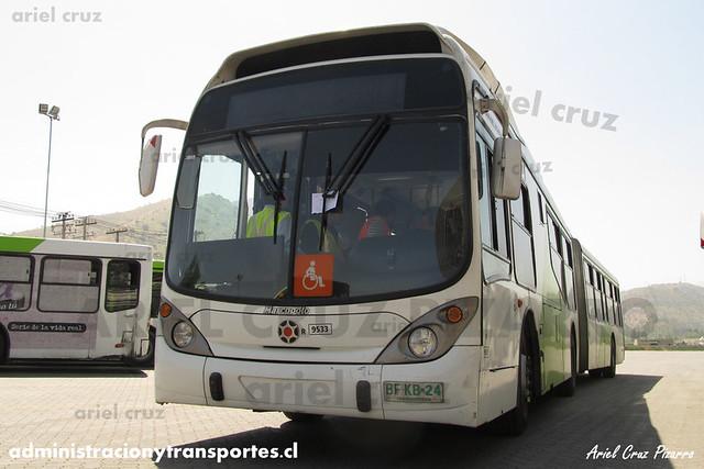 Transantiago - Subus Chile - Marcopolo Gran Viale / Volvo (BFKB24) (9533)