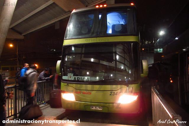 Tur Bus - Antofagasta - Modasa Zeus DP / Mercedes Benz (DKXL99) (2348)