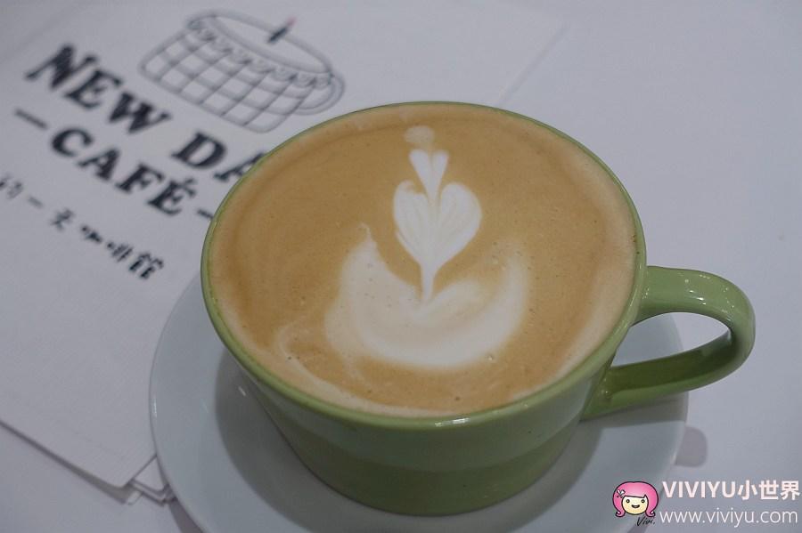 New Day Cafe',新的一天咖啡館,桃園咖啡館,桃園火車站,桃園美食,義大利麵,飲料 @VIVIYU小世界