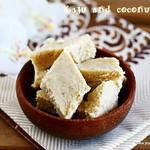 Coconut cashew burfi