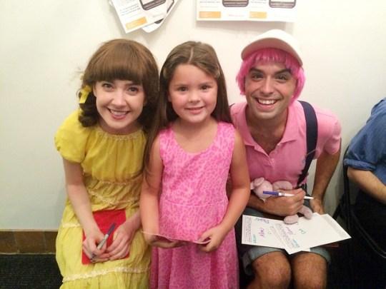 Pinkalicious Cast