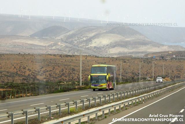 Los Corsarios (Pullman Bus) - Norte Chico - Marcopolo Paradiso 1800 DD / Volvo (CFFY89) (2113)