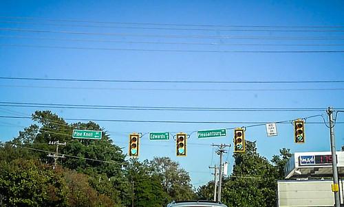 Pleasantburg Drive Signs