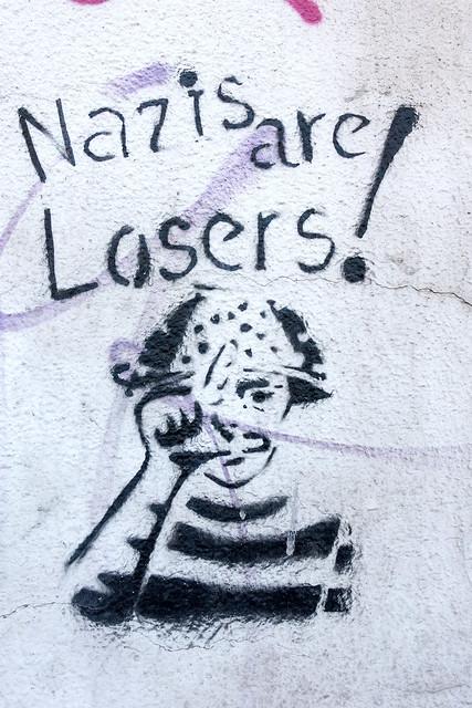 Nazi Stencil