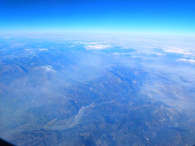 フィンエアーから見た景色