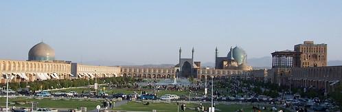 Plaça Naghsh-i Jahan, Isfahan, Iran