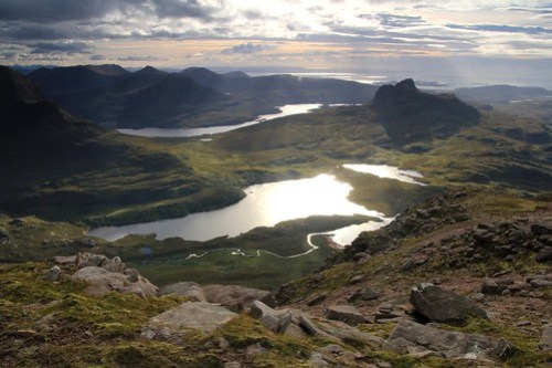 A fine day on Cul Mor