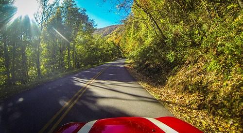 Blue Ridge Parkway in Autumn-2