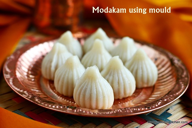 Modakam using mould