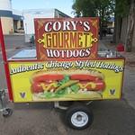 corys hotdog cart