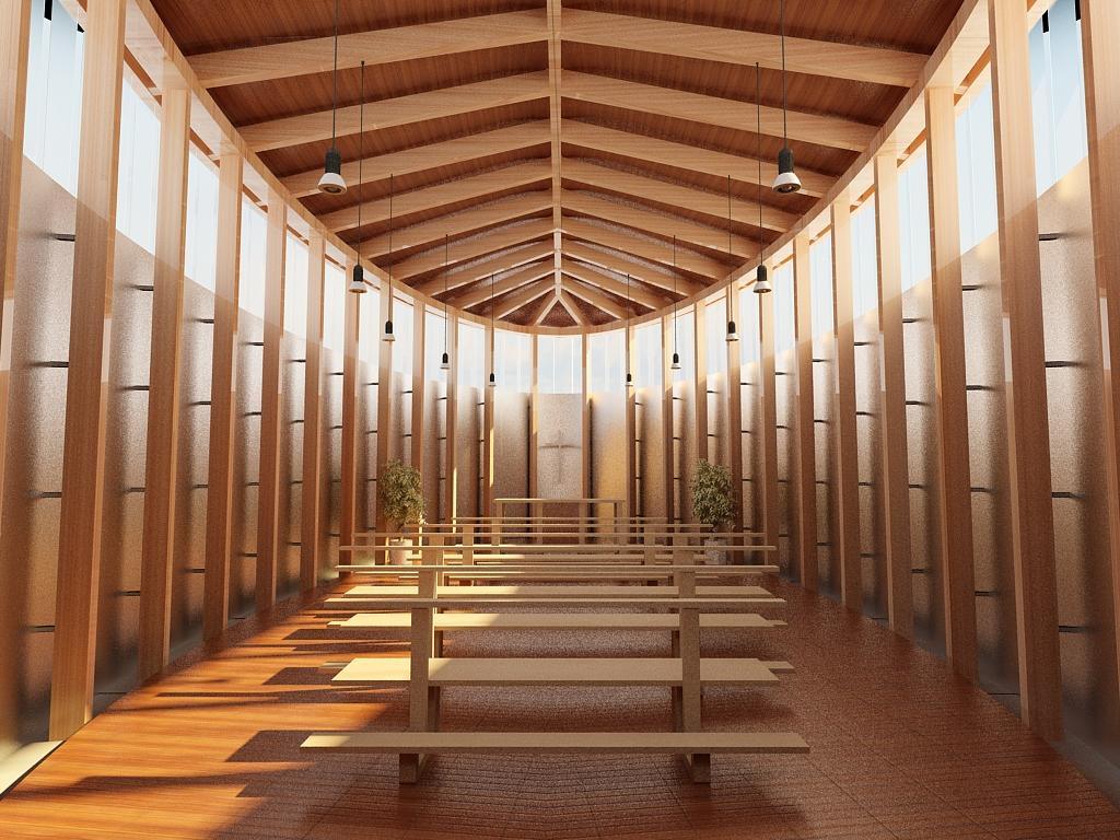 Imagen gratis de una iglesia moderna