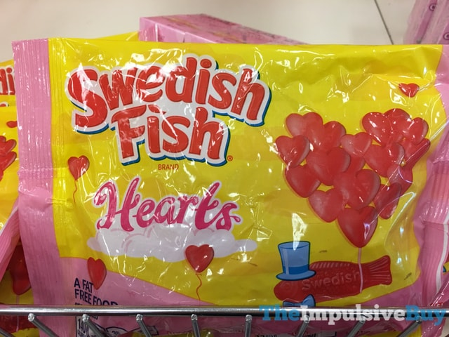 Swedish Fish Hearts