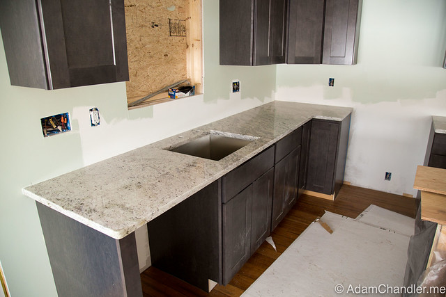 Granite Countertops Install