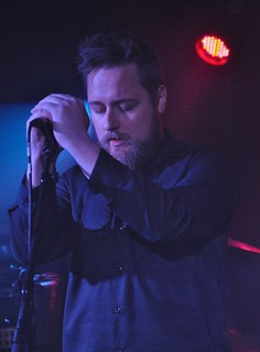 Andy Campbell of Zlatanera at Voodoo, Belfast, 25 November 2015