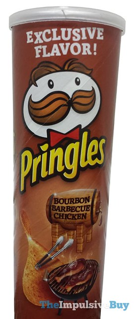 Pringles Exclusive Flavor Bourbon Barbecue Chicken
