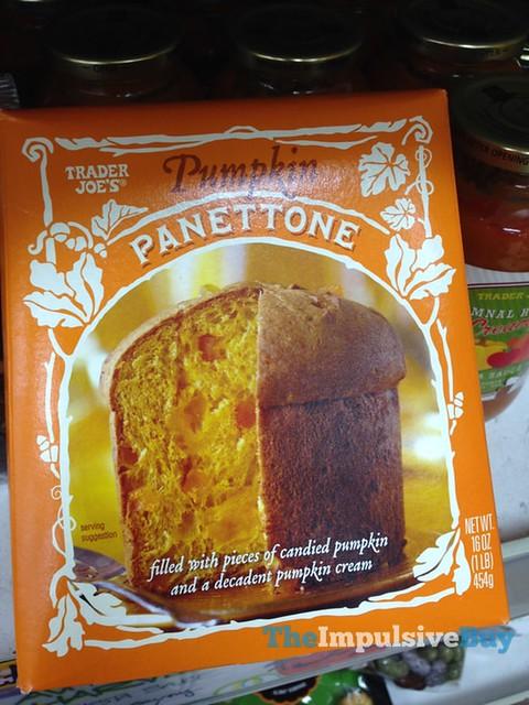 Trader Joe's Pumpkin Panettone