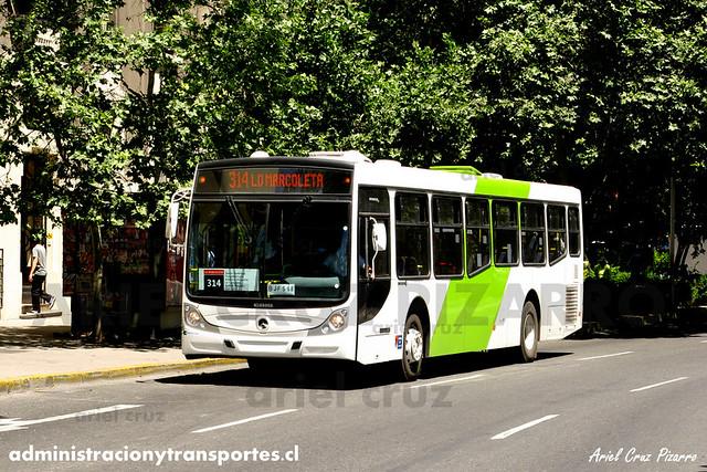 Transantiago - Buses Vule - Caio Mondego H / Mercedes Benz (BJFS68)