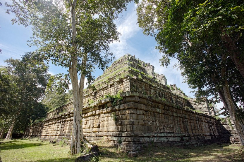 The Thom Temple at Koh Ker.