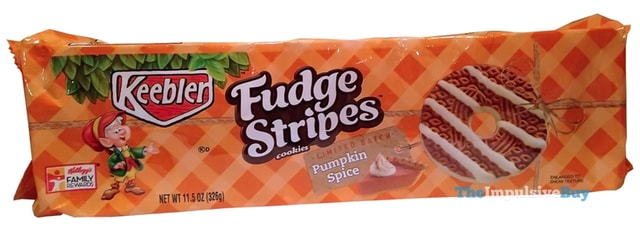 Keebler Limited Batch Pumpkin Spice Fudge Stripe Cookies