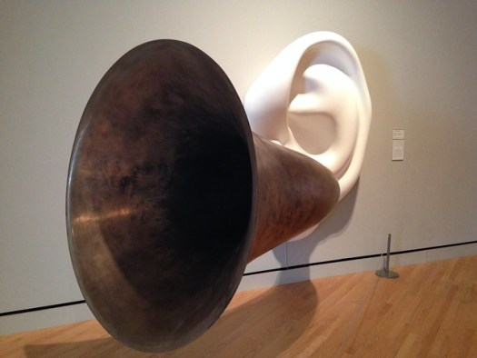 John Baldessari: Beethoven's Trumpet (With Ear)
