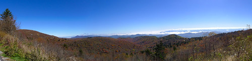 Blue Ridge Parkway in Autumn-76