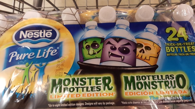 Nestle Pure Life Limited Edition Monster Bottles