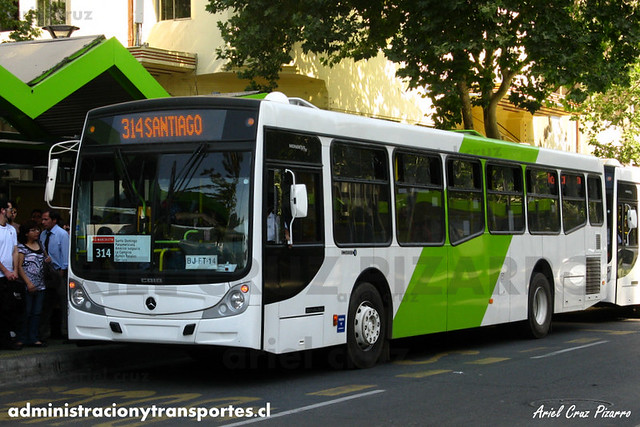 Transantiago - Buses Vule - Caio Mondego H / Mercedes Benz (BJFT14) (121)