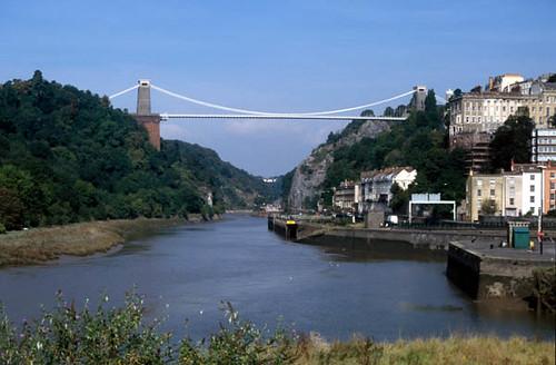 Clifton Suspension Bridge from Hotwells