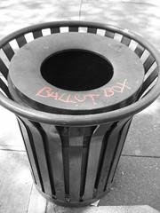 Ballot Box, Broadway, Seattle, WA