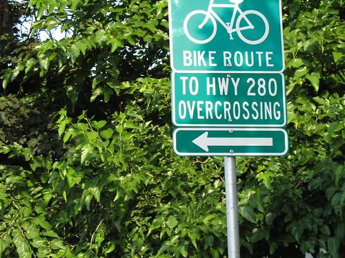 I-280 pedestrian overpass