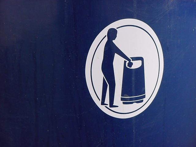 naked trash disposal