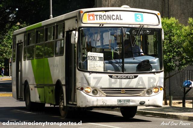 Transantiago - Buses Gran Santiago - Busscar Urbanuss / Mercedes Benz (UB1292)
