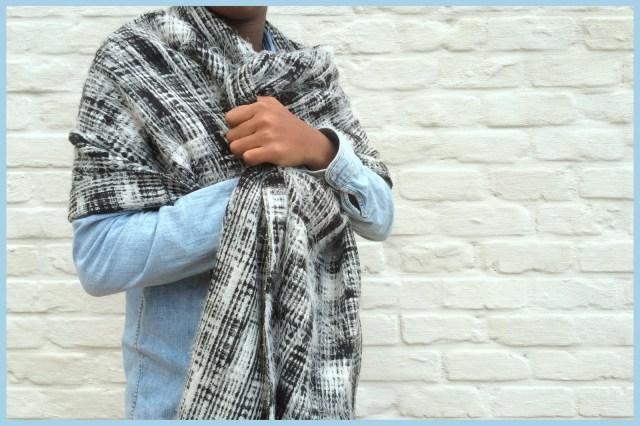 oversized scarf (blanket)
