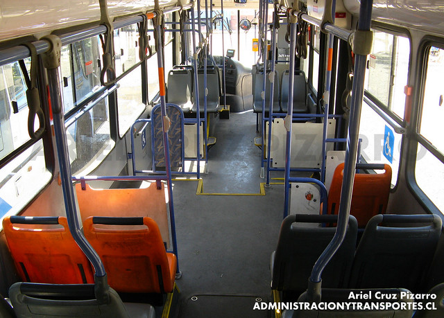 Transantiago - Unitran - Busscar Urbanuss Pluss - Mercedes Benz (BJFP50)