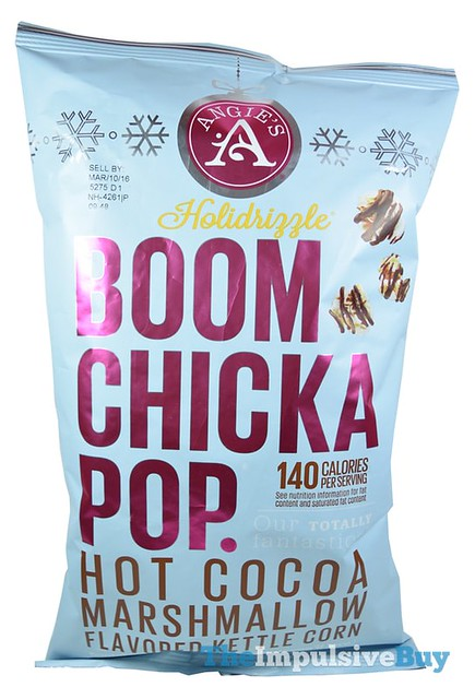 Angie's Holidrizzle Hot Cocoa Marshmallow Kettle Corn