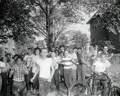 White students terrorize Anacostia black students: 1954