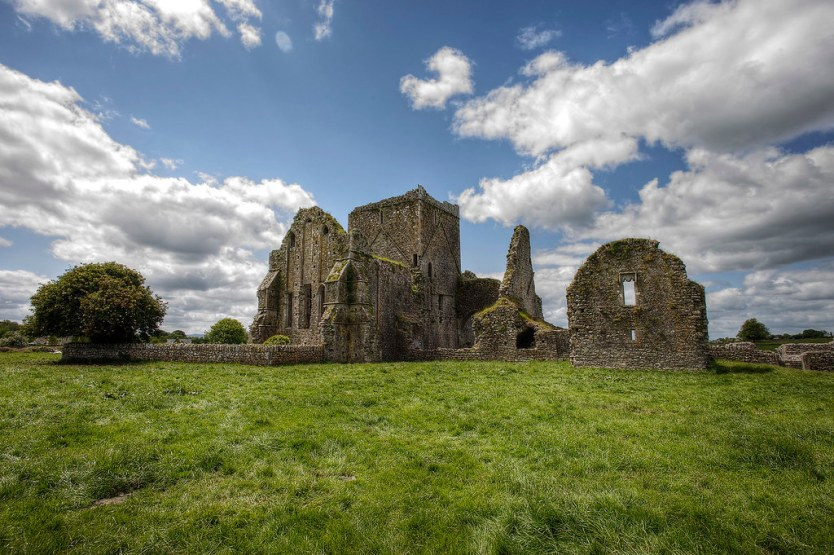 The remains of Hore Abbey.