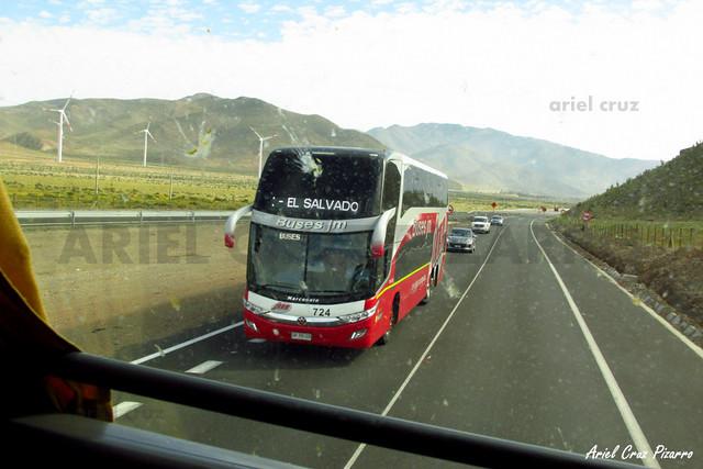 Buses JM - Parque Eólico Punta Colorada - Marcopolo Paradiso 1800 DD / Mercedes Benz (GKPB28)