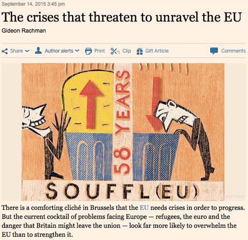 15i15 FT Crisis refugiados amenaza construcción Europa UE