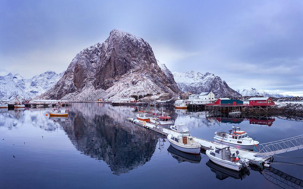 Floating Away Lofoten Norway Paradise This Was This