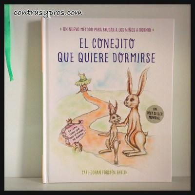 Libro El conejito que quería dormirse