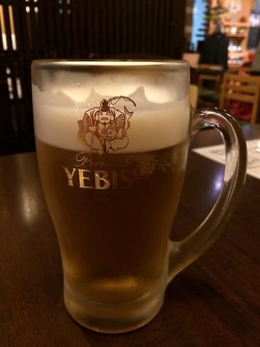 ビール@和み家 魚えん