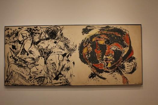 Jackson Pollock, Portrait and a Dream, Dallas Museum of Art
