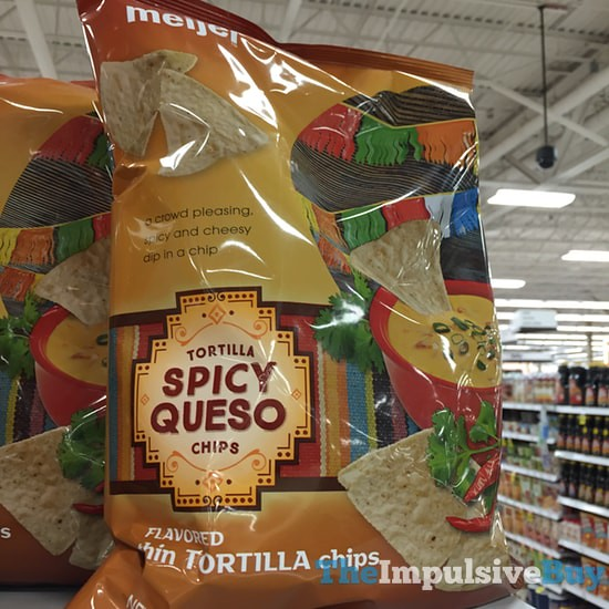 Meijer Spicy Queso Tortilla Chips